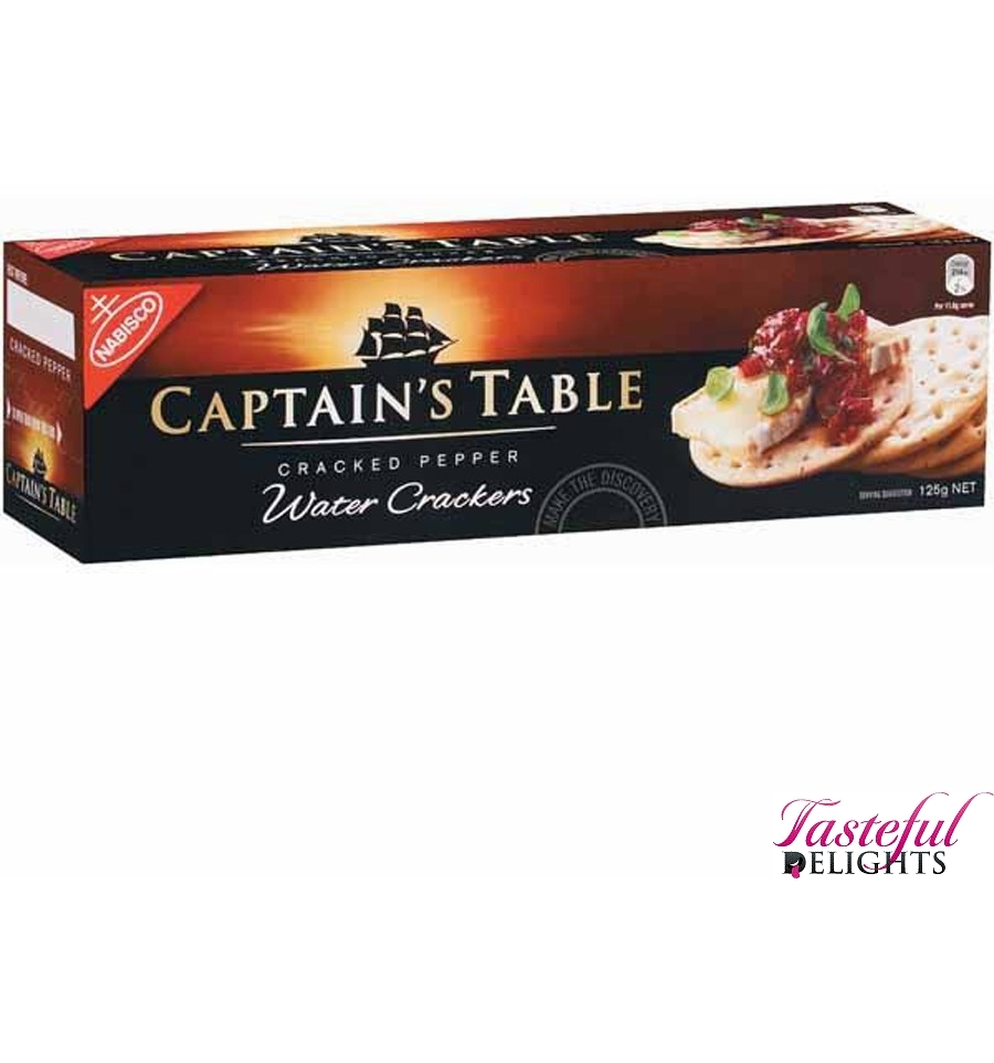 Nabisco Captains Table Pepper 125g • AUD 2.51