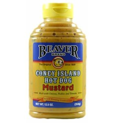 Beaverton Foods Inc Coney Island Hotdog Mustard 354g