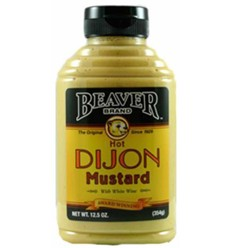 Beaverton Foods Inc Hot Dijon Mustard with White Wine 354g