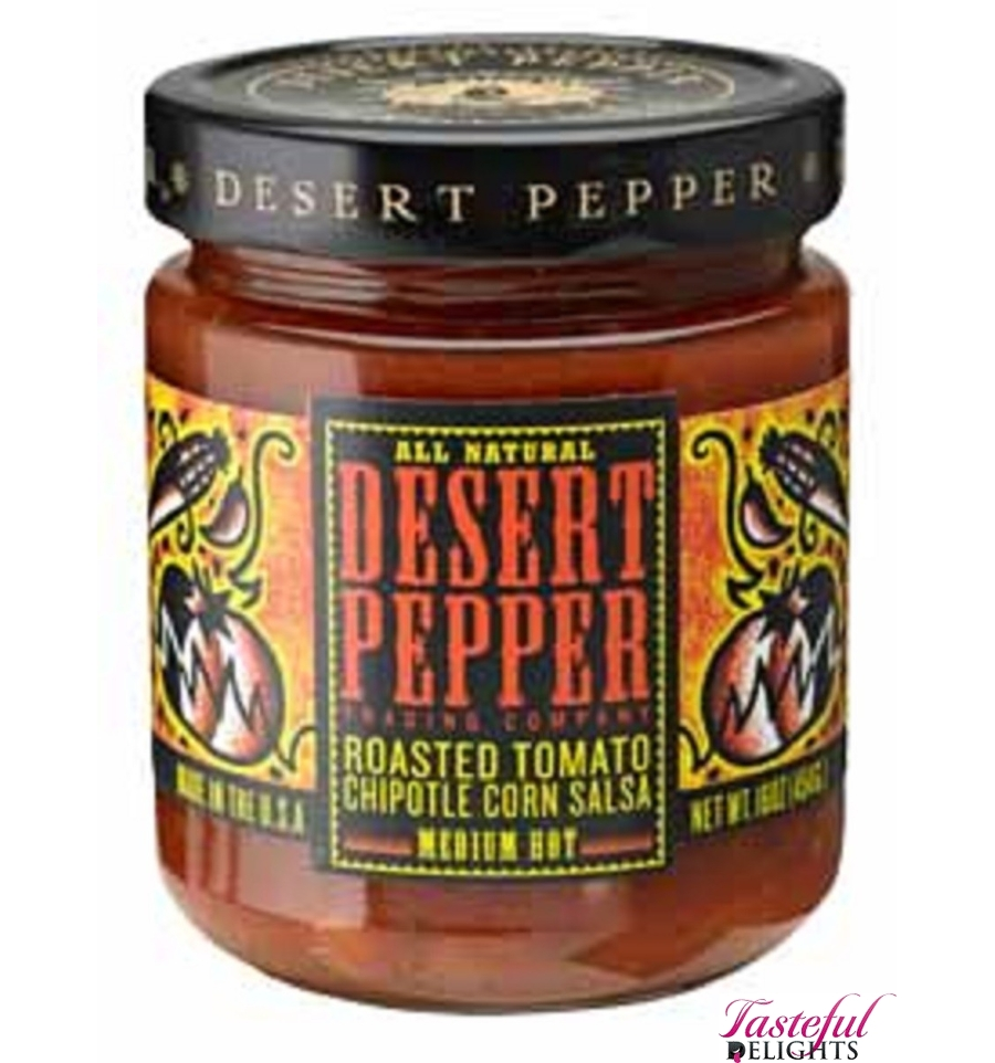 Desert Peppers Roasted Tomato Chipotle Corn 453g ...