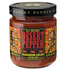 Desert Peppers XXX Fire Roasted Habanero 453g