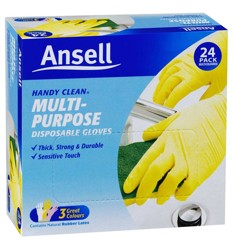 Ansell Handy Clean Gloves 24's