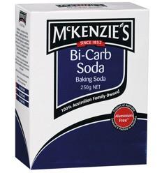 Mckenzie Bi Carb Soda 250g