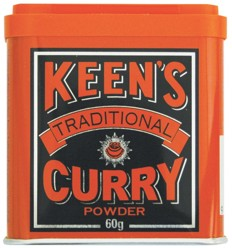 Keens Traditional Curry Powder 60g