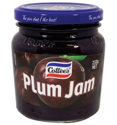 Cottees Jam Plum 250g