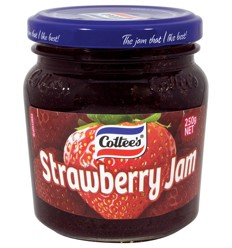 Cottees Jam Strawberry 250g