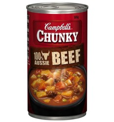 Campbells Chunky Beef 505g