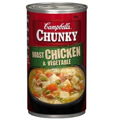 Campbells Chunky Chicken Vegetable 505g
