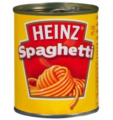 Heinz Spaghetti Can 130g
