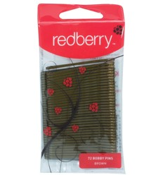 Bobby Pins Brown Redberry