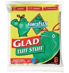 Glad Tuff Stuff Bags 6's