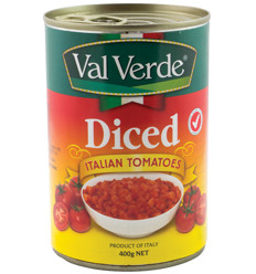 Val Verde Diced Tomatoes 400g