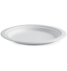 Biopak Bioplastic Round Plates 9in 125s