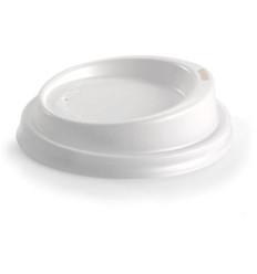 Biopak Bioplastic Hot Cup Lids 50s