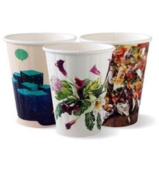 Biopak Double Wall Paper Cup Art Series 50s