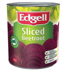 Edgell Sliced Beetroot 2.95kg