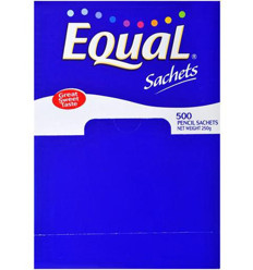 Equal Sweetener Sticks 500s