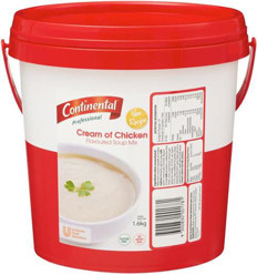 Continental Cream Of Chicken Cup-a-soup 1.6kg