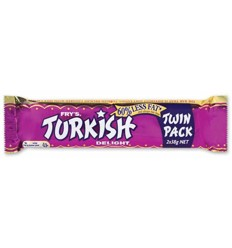 Cadbury Turkish Delight Twin 76g x 28