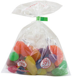 Lolly Bags 150g x 40