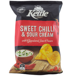 Kettle Sweet Chilli & Sour Cream 45g x 18