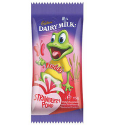 Cadbury Dairy Milk Freddo Frog Strawberry 15g x 72