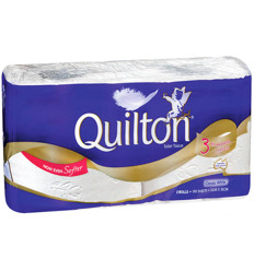 Quilton Toilet Tissue Twin Pack x 14