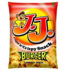 Jj Burger Snacks 20g x 30