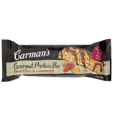 Carmans Chocolate Cranberry Protein Bar 40g x 12