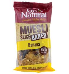 Go Natural Baked Muesli Banana 90g x 12