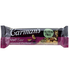Carmans Almond Cashew & Cranberry Nut Bar 45g x 12