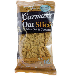 Carmans Golden Oat & Coconut Slice 70g x 12