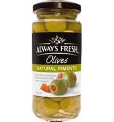 Always Fresh Stuffed Spanish Olives 235gm