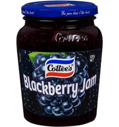 Cottee's Blackberry Jam 500gm