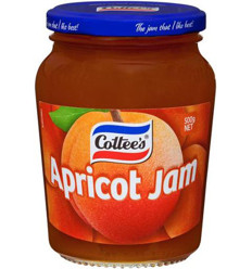Cottees Apricot Jam 500gm