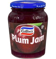 Cottee's Jam Plum 500gm