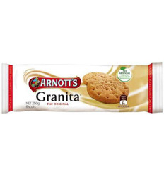 Arnotts Biscuits Granita 250gm