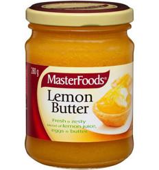 Masterfoods Lemon Butter 280gm