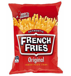 French Fries Plain 45g x 18
