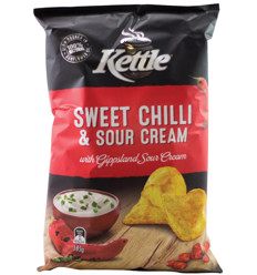 Kettle Sweet Chilli Sour Cream 175g