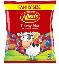Allens Chew Mix 370gm
