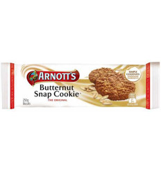 Arnotts Butternut Snap Cookie 250g