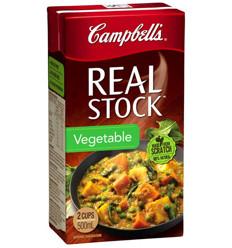 Campbells Realstock Vegetable 500ml