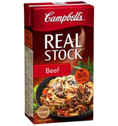 Cambells Realstock Beef 500ml