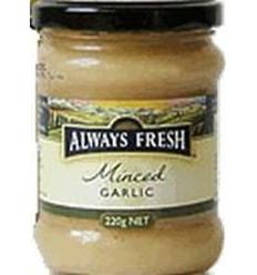 Always Fresh Minced Garlic 220gm