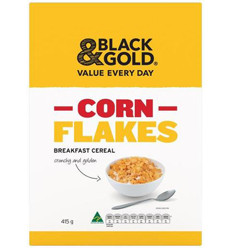 Black & Gold Cornflakes Packet 415gm