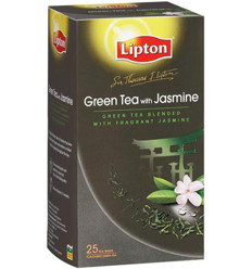 Lipton Green Tea With Jasmine Sir Thomas Tea Bag 25s