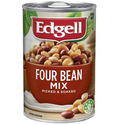 Edgell Four Bean Mix 400gm