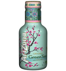 Arizona Green Tea Honey 500ml x 6