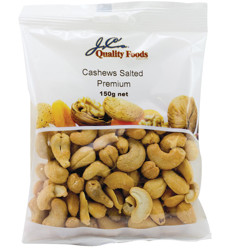 Jc's Cashews Honey Roasted 150g x 12